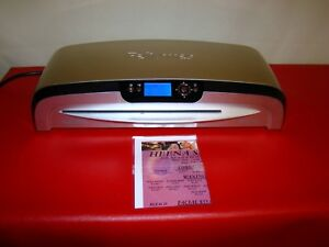 Fellowes Laminator Venus 125 12 5 Inch Rapid 30 60 Second Warm up Laminating Mch