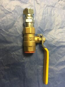 5 Brass 1 2 Ball Valve Fairview 5 Quantity