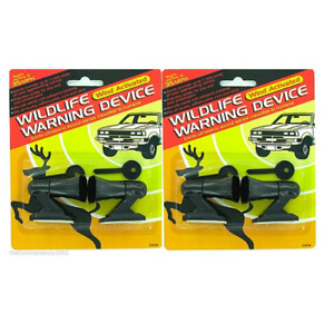 4 Ultrasonic Car Deer Warning Whistles 2 Packs Auto Safety Alert Device Safety