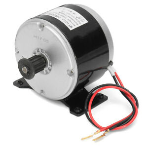 24v Dc Electric Motor Brushed 300w 2750rpm 2 wired Chain Fits E Bike Scooter Us