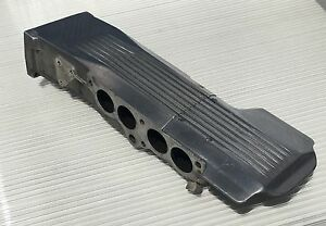 1985 1988 Corvette Polished L98 Intake Plenum W Dist cover Gm 14081006 read
