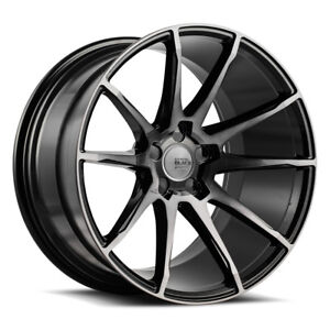 19 Savini Bm12 Tinted Concave Wheels Rims Fits Ford Mustang