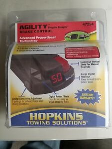 Hopkins Agility Trailer Brake Control 47294 Brand New