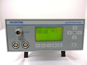 Boonton 4532 Rf Peak Power Meter 90 Day Warranty