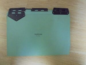 20 Legal Size Pressboard File Guides With Black Metal Tabs 15 X 9 5