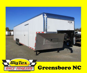2018 8 5x40 Gooseneck Enclosed Cargo Trailer Pull With Swb Or Lwb Trucks