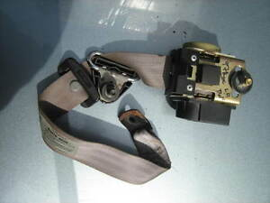 19979899 Mercury Tracer Seat Belt Assembly Driver lr Oem used gc Ford Escort