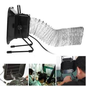 30w Solder Iron Smoke Absorber Remover Home Fume Extractor Filter Fan Air Pipe