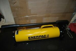 Enerpac P 80 Ultima Hydraulic Hand Pump 10 000psi Release Valve Spindle Bent