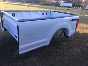2017 Ford F250 F350 Superduty 8 Bed Longbed With Gate White New Take Off