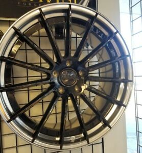 22 Canino Cd15 Staggered 2 piece Forged Wheels 5x130 Porsche Panamera Cayanne