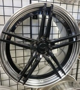 22 Canino Cd5 Staggered 2 piece Forged Wheels 5x130 Porsche Panamera Cayanne