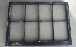 Architectural Salvage 8 Pane 36x28 Antique Wood Window Sash Frame Pinterest
