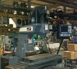 Bridgeport Boss 8 Mill With Fagor Cnc 8055 Control inv 33096