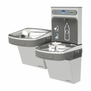 Elkay Ezstl8wssk Ezh2o Versatile Bi level Water Drinking Fountain Bottle Filli