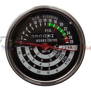 Tachometer Tach Hour Meter For John Deere 420 430 440 5 Speed At13366