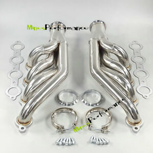 A Set Ls1 Ls6 Lsx Gm For V8 Chevrolet Up Forward Turbo Headers Ss Manifolds