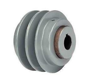 Tb Woods V belt Pulley Variable Pitch Fixed Bore 2vp56118 new Free Shipping