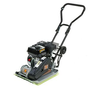 6 5hp Vibratory Plate Compactor 196cc Dirty Hand Tools