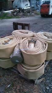 Discharge Hose 6 Angus High Pressure Water fuel Lay Flat 50 Lengths
