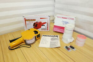 8 Digits Price Gun Labeller Mx 5500 6 White 3 Pink Primark Rolls 2 Ink Rolls