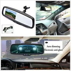 4 3 Tft Lcd Electronic Auto Dimming Anti glare Car Rear View Mirror Monitor