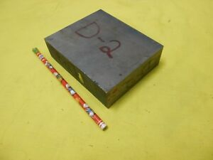 D 2 Tool Steel Bar Stock Machine Mold Die Shop Flat 1 3 8 X 4 X 5 Oal