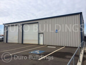 Durobeam Steel 30x60x14 Metal Prefab Garage Barn Ibeam Building Workshop Direct