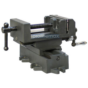 2 Way 4 Drill Press X y Compound Vise Cross Over Slide Mill Milling Vice Table