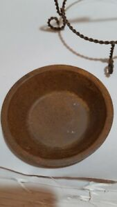 Primitive Rustic Wire Rusty Candle Holder Heart Tin Twisted Dish