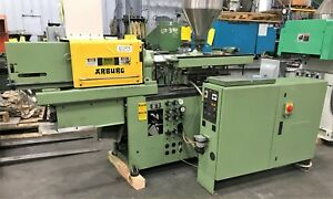 35 Ton 2 Oz arburg Allrounder 221e 170 p Plastic Injection Molding Machine