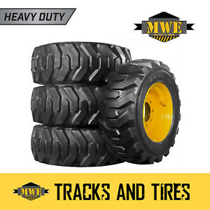 10x16 5 10 16 5 Heavy Duty 10pr Tnt Xtra Wall Skid Steer Tires New Holland