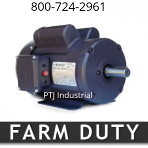 1 Hp Electric Motor 143t 1800 Rpm Single Phase Farm Duty 1 Phase