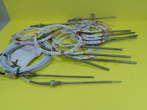 Lot Of 13 New Pyro Controle Stainless Thermocouple Sensor Probes