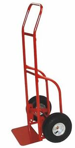 Milwaukee Hand Trucks 49112 Flow Back Handle Truck With 10 inch Pneumatic New