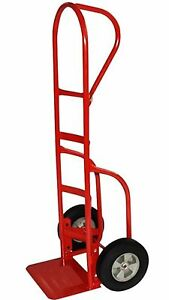 Milwaukee Hand Trucks 33045 P handle Truck With 10 inch Puncture Proof Ti New