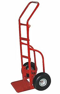 Milwaukee Hand Trucks 33012 Heavy Duty Flow Back Handle Truck With 10 inc New