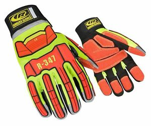Ringers Gloves R 347 Rescue Cut And Impact Protection Kevloc Grip Syste New