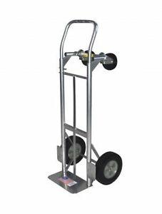 Milwaukee Hand Trucks 36080s Convertible Truck With 10 inch Puncture Proo New