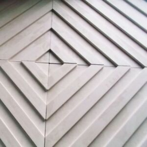 diagonal 3d Decorative Wall Stone Panels abs Form Plastic Mold For Plaster