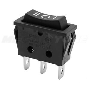 Spdt Momentary on off on Rocker Switch Actuator 20a 125vac Usa Seller