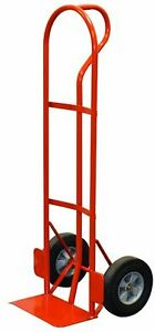Milwaukee Hand Trucks 47866 P handle Truck With 10 inch Solid Puncture Pr New
