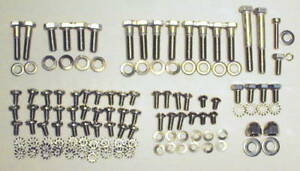 1953 1954 Chevy Car Truck Engine Bolt Kit Stainless Steel 235ci