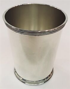 International Sterling Silver Mint Julep Cup 4 6 Ounces Silver P699 Vintage 2