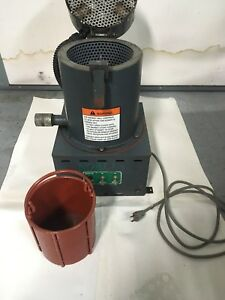 bench Top centrifugal Spin Dryer Nobles Manufacturing Model No 29792 7