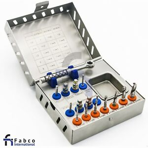 Surgical Drill Kit Drills Drivers Ratchet Dental Implant Instruments