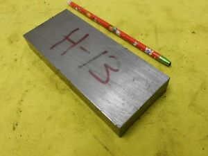 H 13 Tool Steel Bar Stock Machine Mold Die Shop Flat 7 8 X 2 1 2 X 6 1 4 Oal