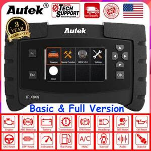 Ifix 969 Full Systems Auto Program Ecu Immobilizer Diesel Gas Diagnostic Scanner
