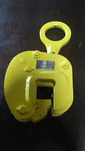 plate Lifting Clamp Safety Clamp Inc Model Vl 3 Ton 0 To 1 5 8 Inch