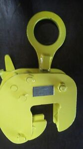 plate Lifting Clamp Safety Clamp Inc Model Vlw 2 Ton 1 1 2 2 3 4